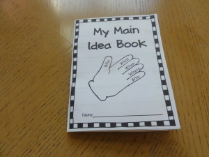 Main Idea Glove and Book