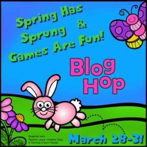 Spring Has Sprung and Games are Fun Blog Hop