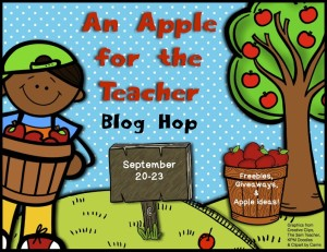 A Apple for the Teacher Blog Hop